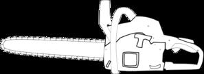 Chainsaw clipart simple Com Art Blank Blank vector