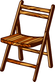 Chair clipart Free Use Folding Domain Free