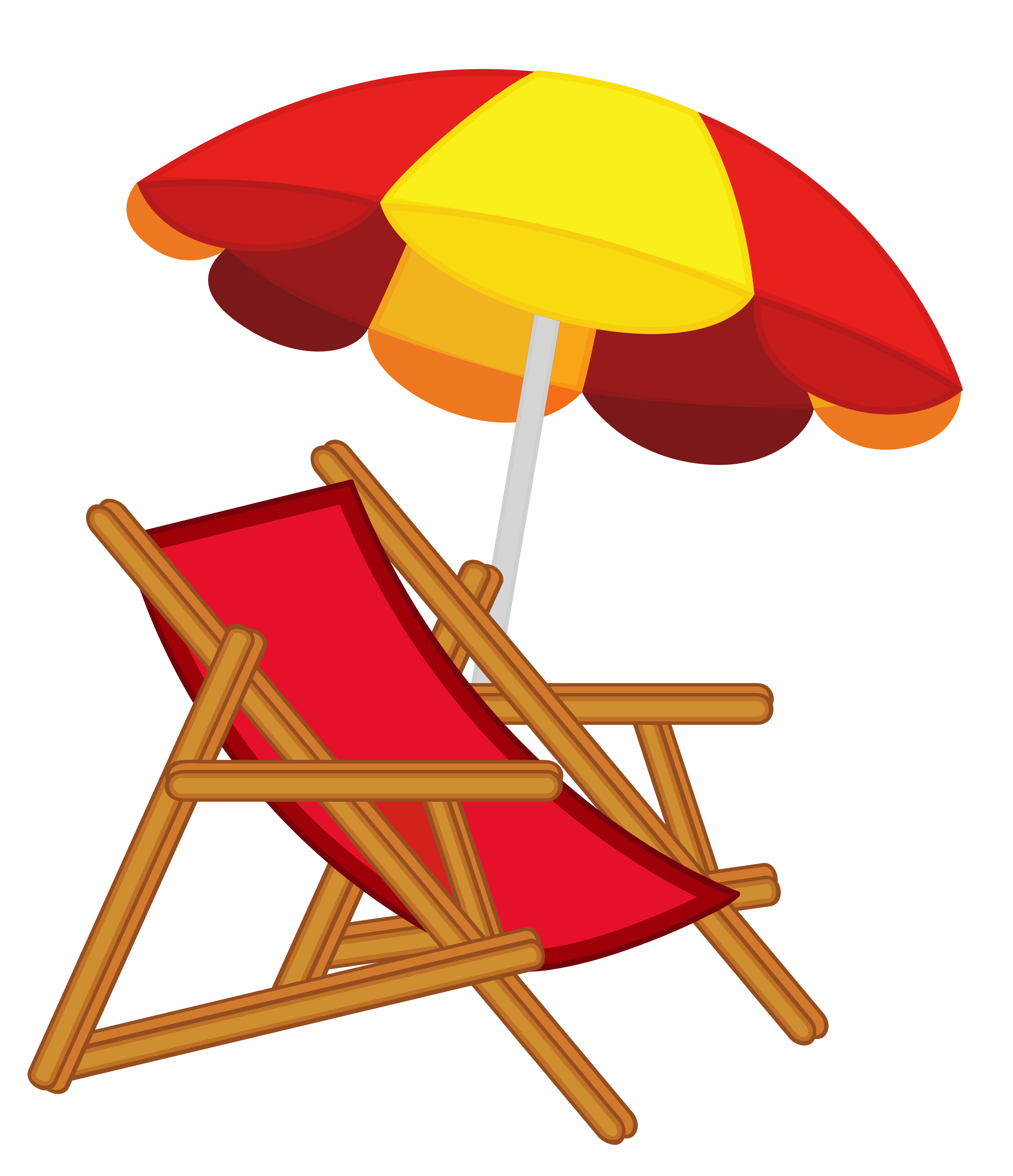 Vacation clipart beach chair Image with PNG High Gallery