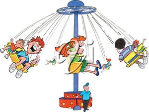 Amusement Park clipart swing ride Park of Ride of Amusement