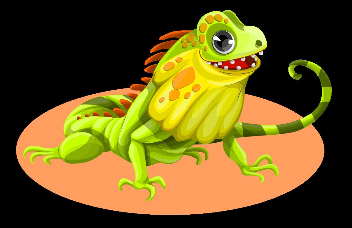 Reptile clipart iguana #3
