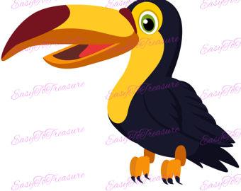 Toucanet clipart cartoon #1