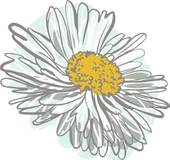 Chamomile clipart flower bunch Clip Chamomile Royalty GoGraph Art