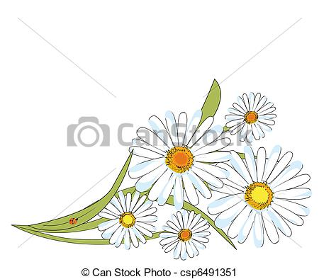 Chamomile clipart Clip design chamomile Art csp6491351