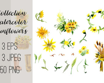 Chamomile clipart wedding flower bouquet Wedding invitations Flowers Boho Studio