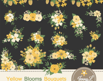 Chamomile clipart wedding flower bouquet For Clipart Flower Flowers Navy