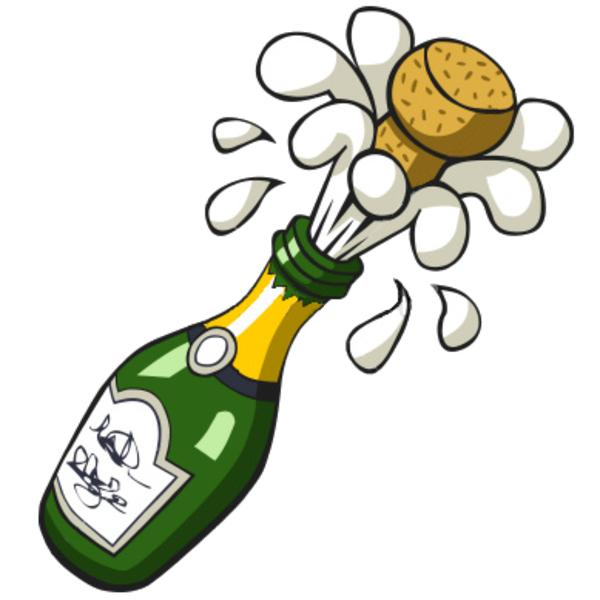 Celebration clipart champagne cork On cliparts Free Champagne