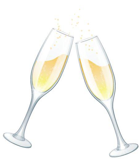 Wedding clipart champagne Champagne 7193 ClipartMe Print Art