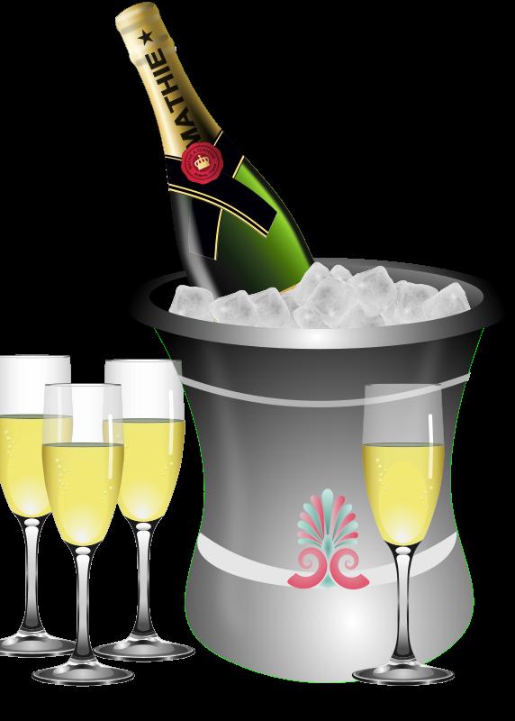 Champagne clipart Clip Champagne Clip & Public