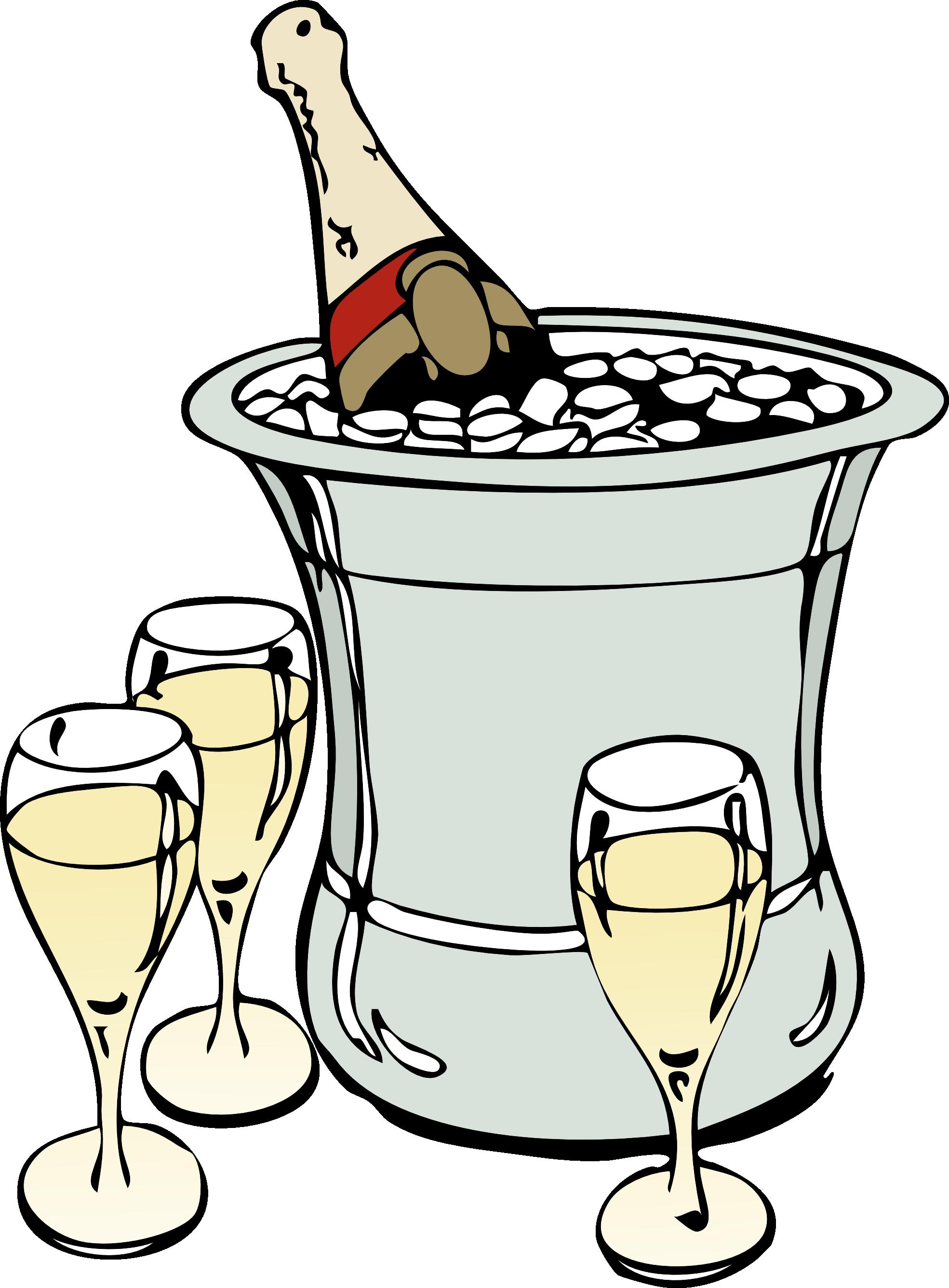 Champagne clipart cartoon ClipartMe Clip Champagne Champagne 7193