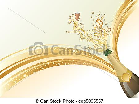 Champagne clipart celebration Illustration Illustration of Stock celebrate