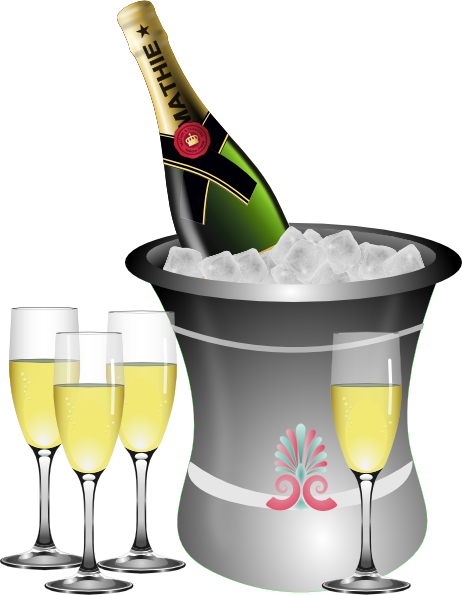 Champagne clipart celebration Download  Champagne com at