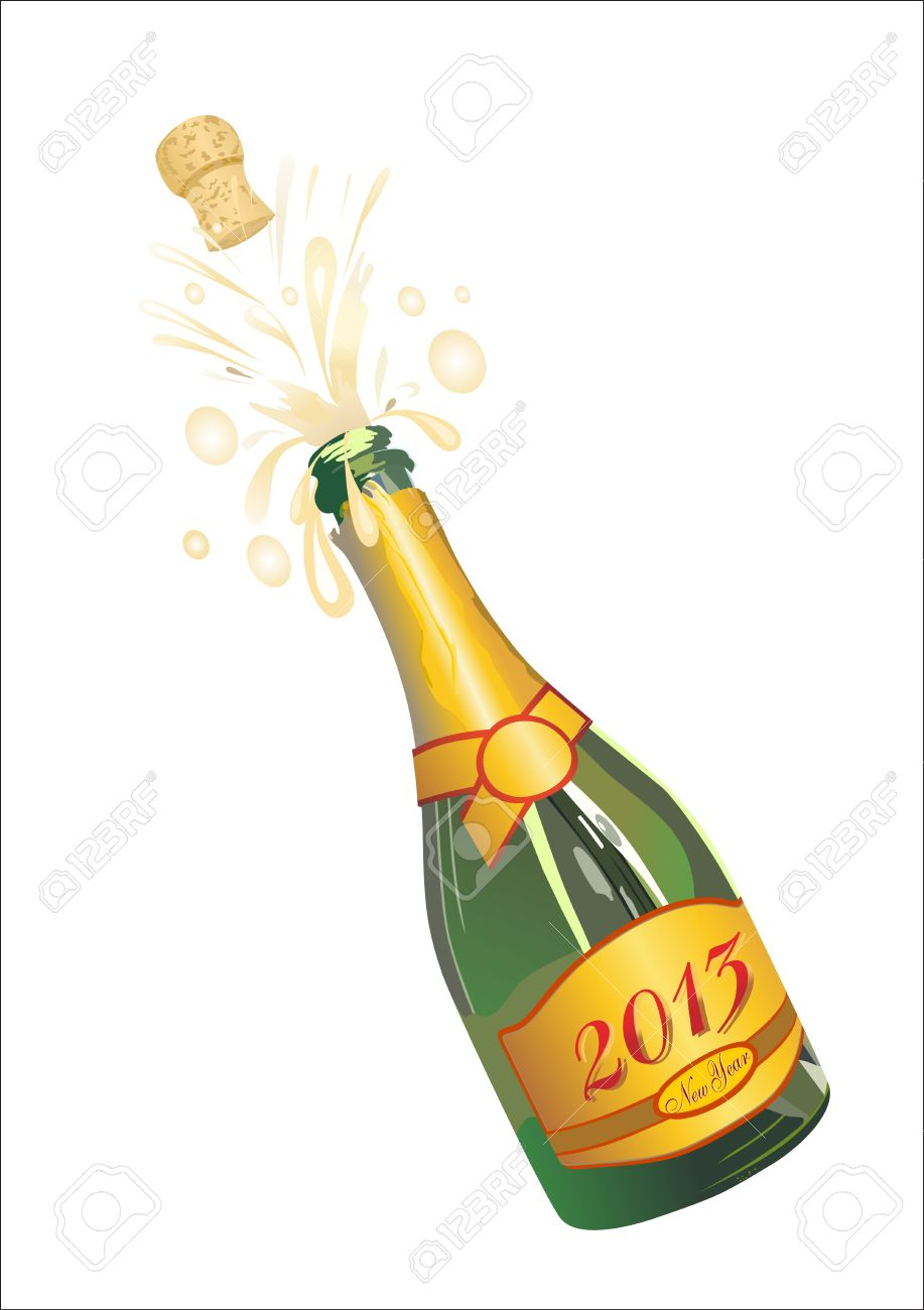 Celebration clipart champagne cork Popping Clipart clipart Champagne Champagne