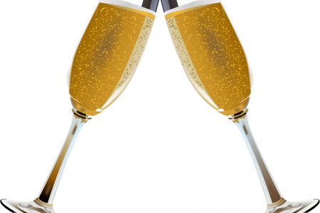 Champagne clipart cheers Free that glasses the clip