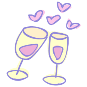 Champagne clipart cheers Free Clip cliparts on Clipart