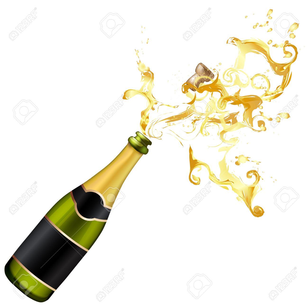 Champagne clipart cork Cork Illustration collection Champagne Champagne