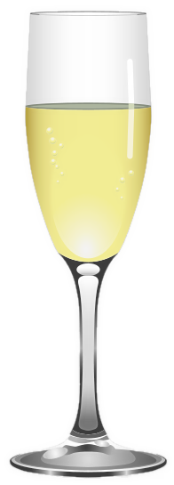 Champagne clipart drinking glass Of page Public Champagne Clip