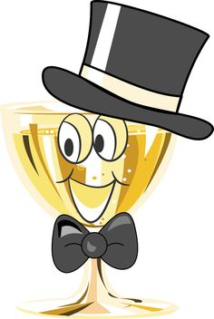 Champagne clipart emoticon Champán Smile Emojis Smiley Большие