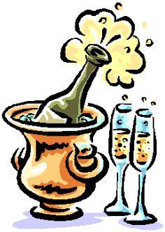 Champagne clipart emoticon Смайлики champagne smile Клипарт 4