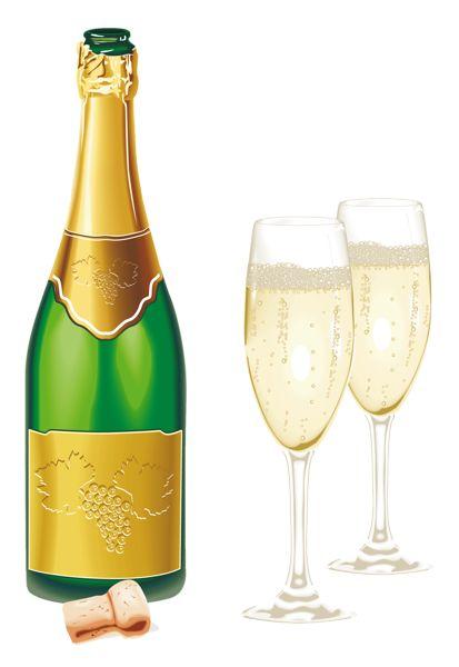Champagne clipart emoticon Champagne New 521 on Glasses