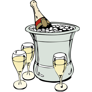 Celebration clipart alcohol On free cliparts clipart Champagne