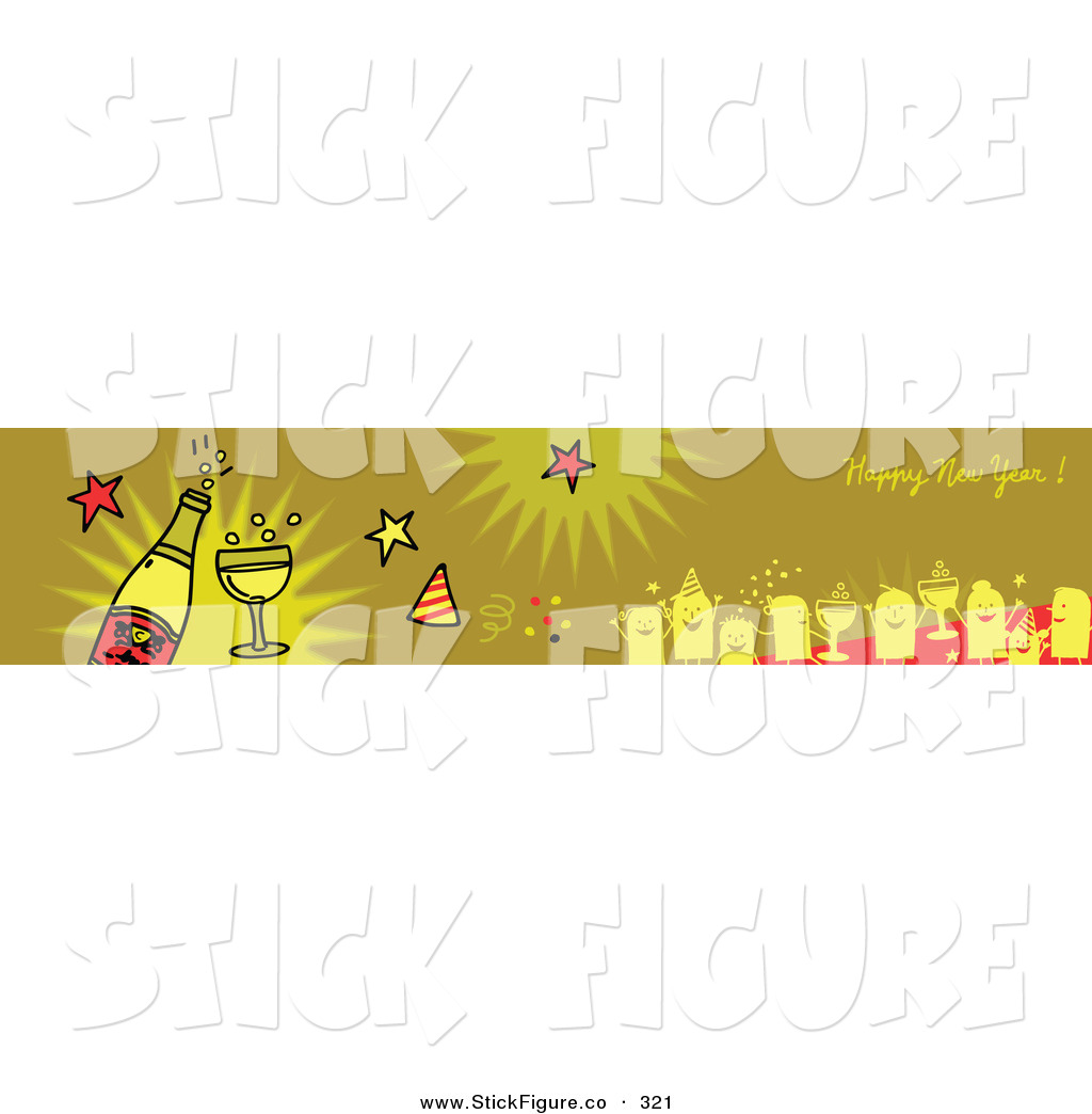 Champagne clipart party Year Party Year Art Happy