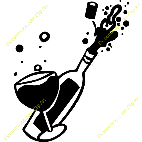Champagne clipart poppin Kzvqpm Clipart cps Birthday Clipart