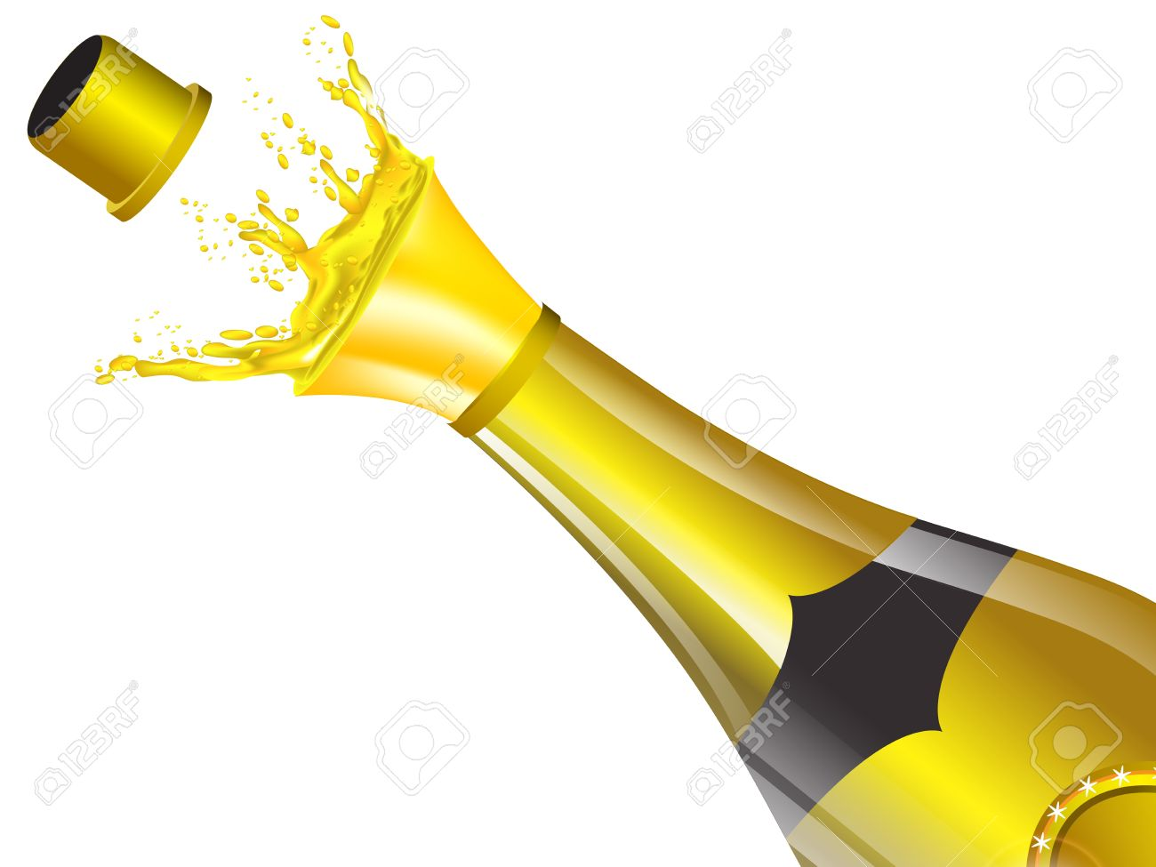 Champagne clipart poppin Of collection Champagne clipart Its