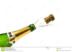 Champagne clipart poppin Bottle Champagne champagne mural at