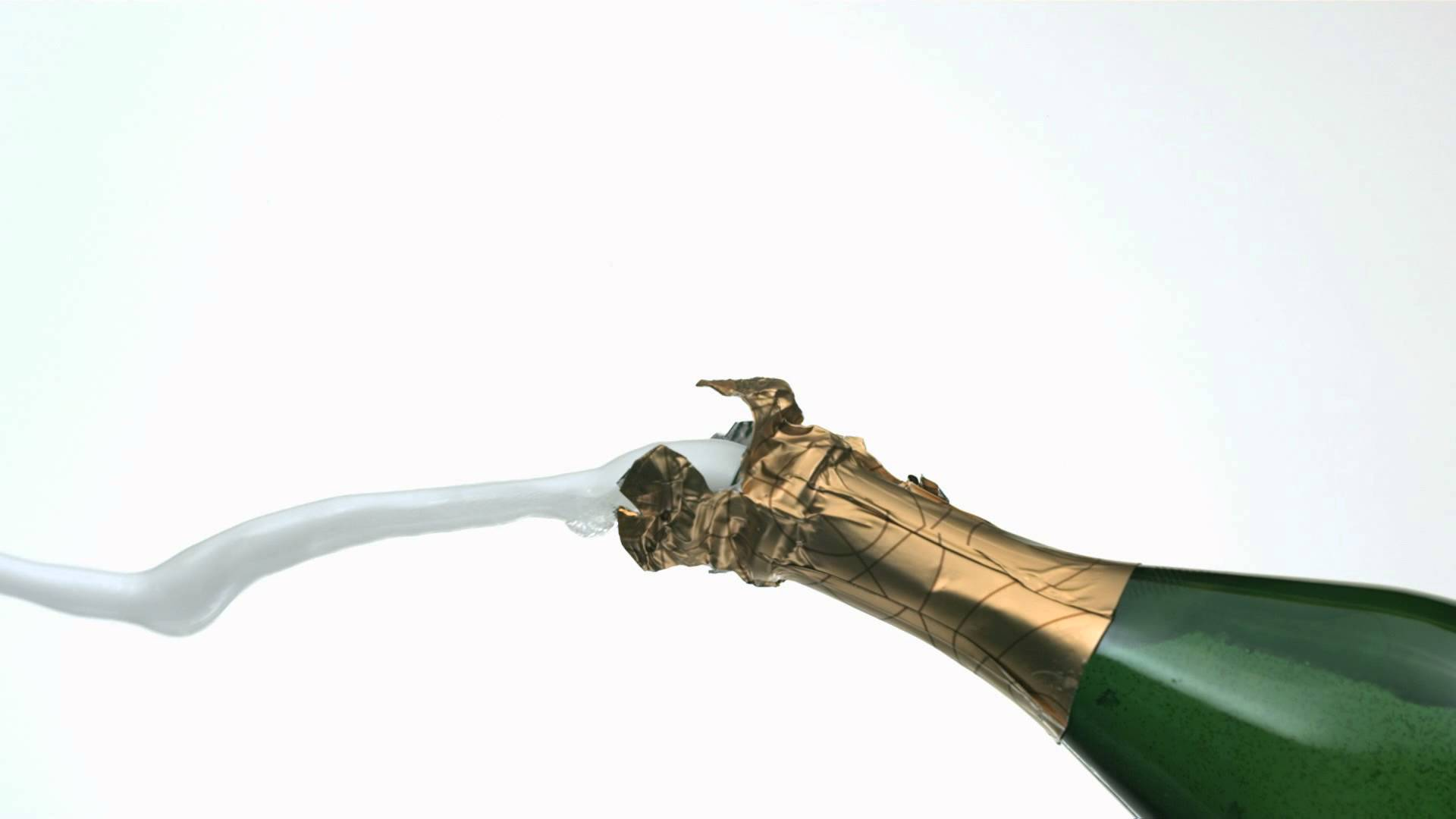 Champagne clipart poppin Motion With Open Bottle Fun