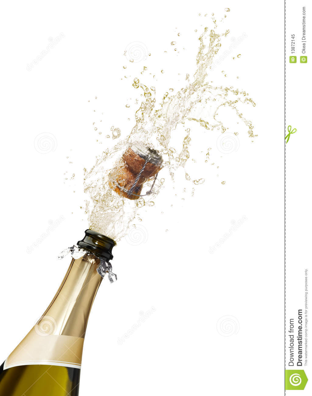 Champagne clipart poppin Bottle Bottle cham mural Champagne