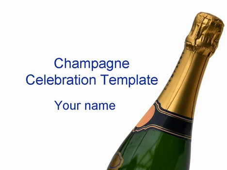 Champagne clipart powerpoint Champagne jpg template  celebration