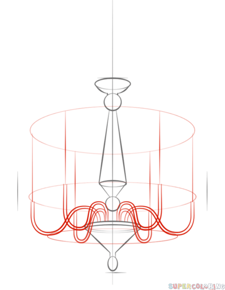 Chandelier clipart easy Drawing Buttons by tutorials to