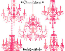 Chandelier clipart easy Pink Pink Clip Chandelier Ideas