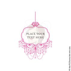 Chandelier clipart easy Pink Pink Clip Pink Ideas