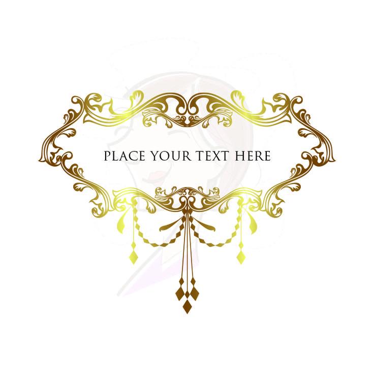 Chandelier clipart gold chandelier Bridal Gold Clip Logo 23