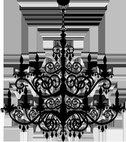 Drawn chandelier fancy chandelier Masquerade Boutique chandelier Luxury Unique