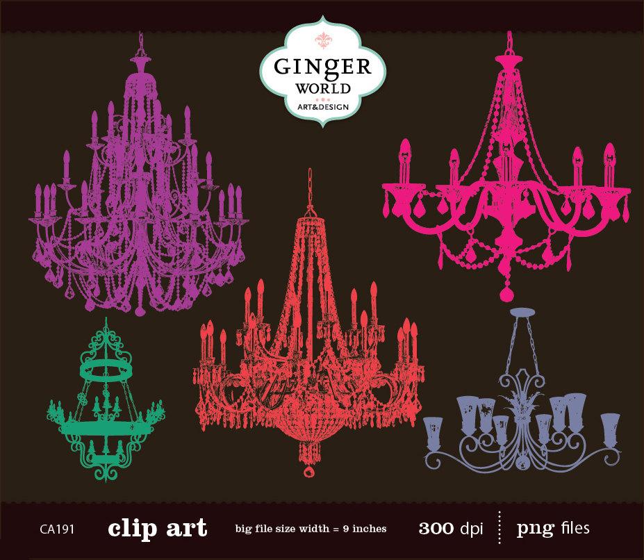 Chandelier clipart pink chandelier Art zoom chandelier Chandelier clip