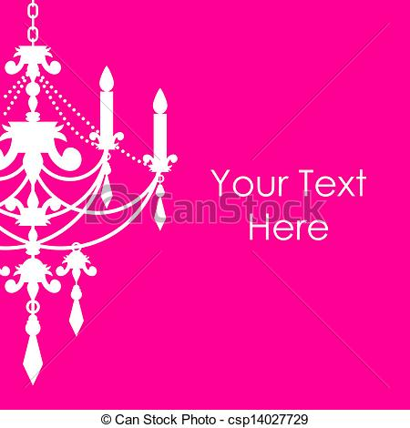 Chandelier clipart pink chandelier With pink chandelier pink background