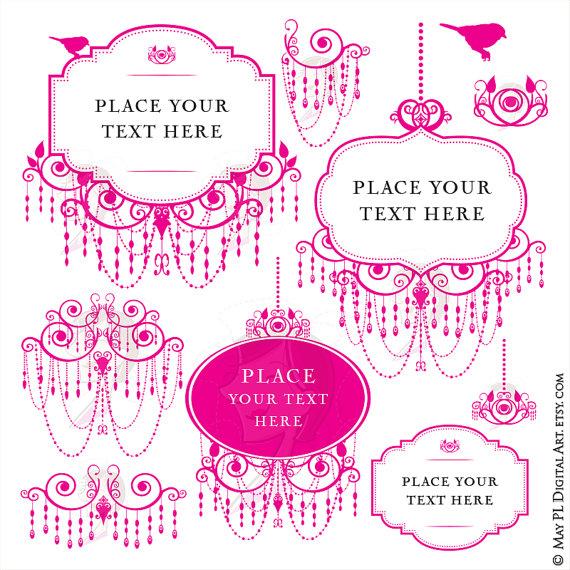 Chandelier clipart transparent background Pink Art Use Hot Vector