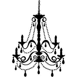 Chandelier clipart transparent background Effects Polyvore and Fillers Stick
