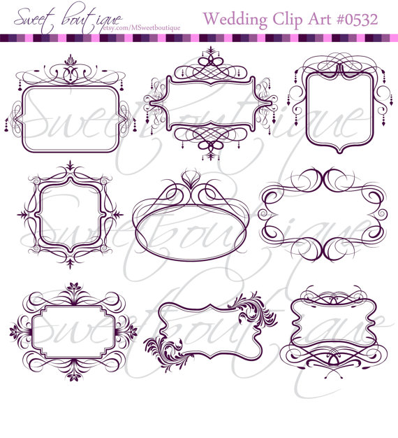 Chandelier clipart victorian frame From clipart DIY clipart Bridal