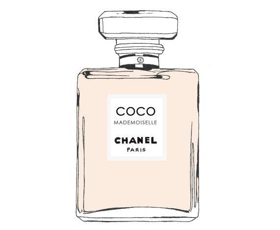 Chanel clipart Clip Art art Perfume