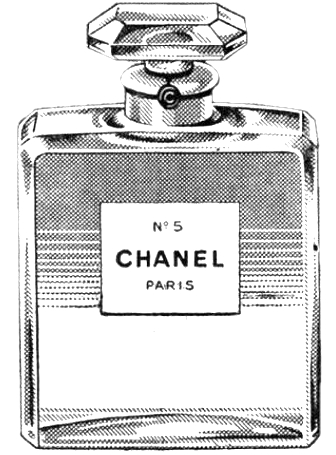Bottle clipart chanel Perfume Bottle Ad And Vintage