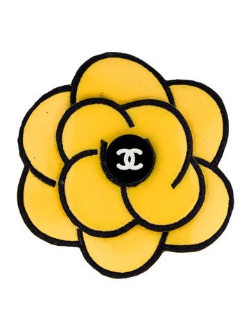 Chanel clipart camellia CHA58125 RealReal Camellia Brooch The