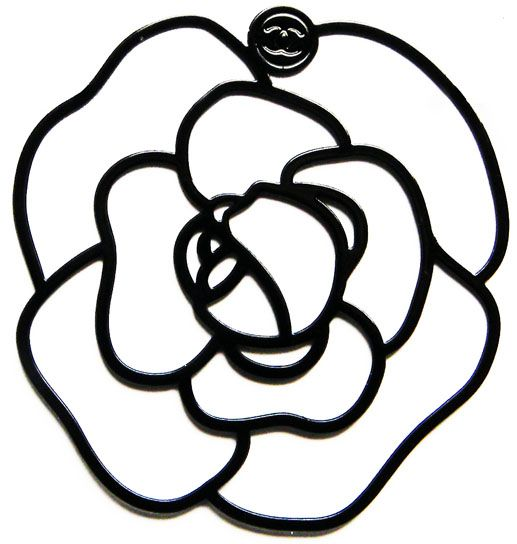 Chanel clipart camellia CHANEL images 83 CI about