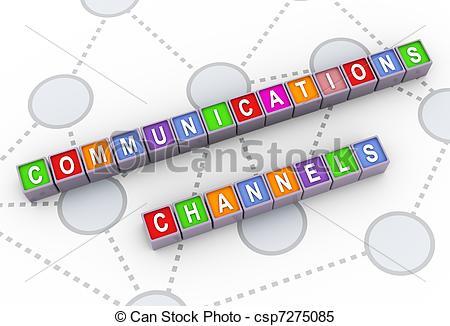 Chanel clipart chanal 3d communications 3d 3d colorful