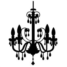 Chanel clipart chandelier By  SVG Mortensen Designer