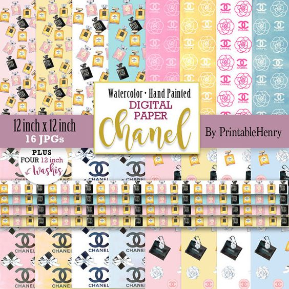 Chanel clipart chane Pink Chanel logo clipart Chanel