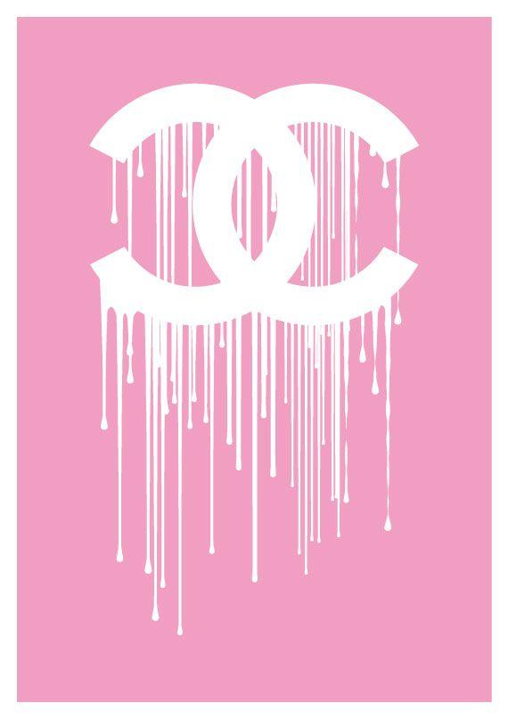 Chanel clipart drip Dripping logo Chanel ideas liquidate